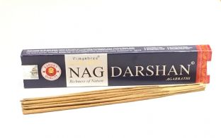 Vijayshree Golden Incense Sticks - Nag Darshan (15g = 15 sticks approx.)
